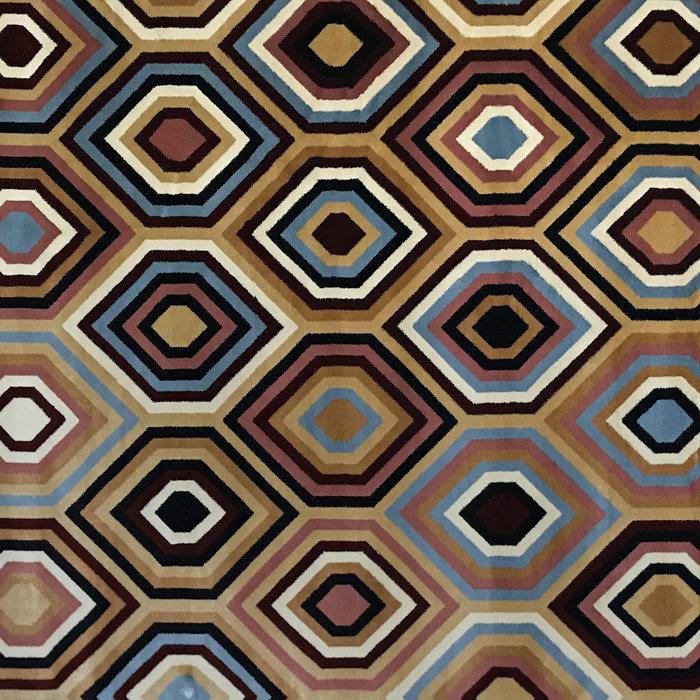 Ковер с геометрическим рисунком 160х220