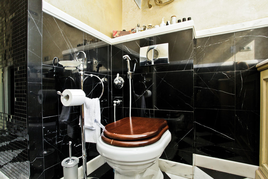 Фотография: Ванная в стиле Эклектика, Классический, Квартира, Дома и квартиры, Проект недели – фото на InMyRoom.ru