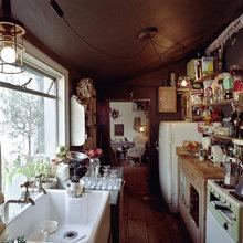 Фотография: Кухня и столовая в стиле Кантри, Офисное пространство, Дом, Офис, Дома и квартиры, Лондон – фото на InMyRoom.ru