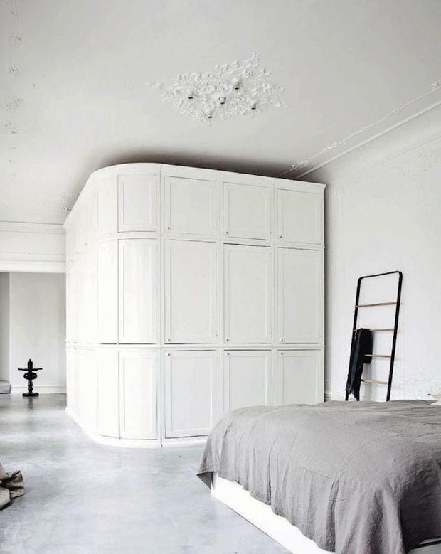 Фотография: Спальня в стиле Скандинавский, Советы, Ремонт, Потолок, Ремонт на практике – фото на InMyRoom.ru