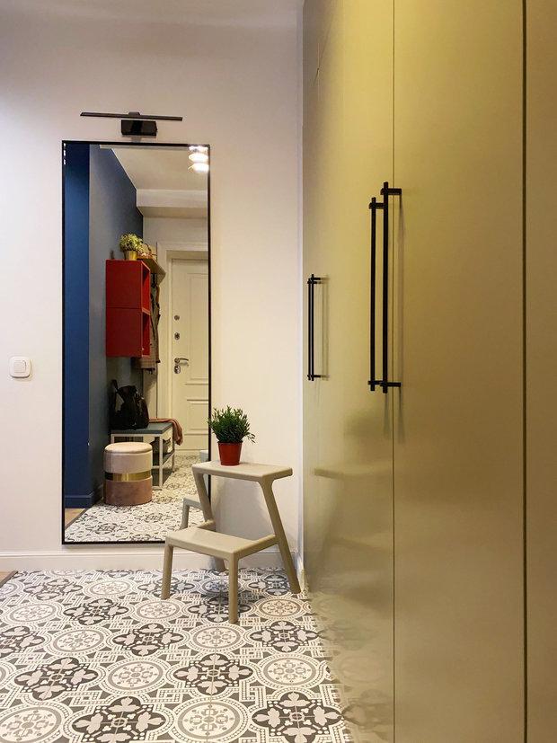 Фотография: Прихожая в стиле Современный, Квартира, Проект недели, Красногорск, 2 комнаты, 40-60 метров, One Line Design – фото на INMYROOM