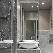 Фотография: Ванная в стиле Минимализм, Квартира, Проект недели – фото на InMyRoom.ru