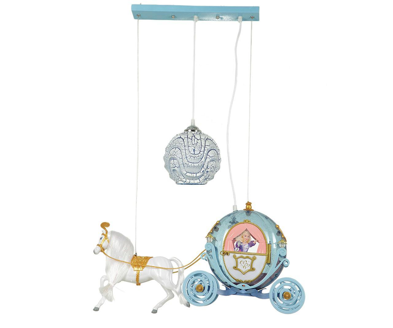 Подвесной светильник карета золушки