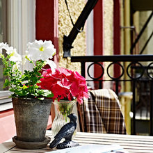 Фотография: Флористика в стиле , Скандинавский, Квартира, Швеция, Цвет в интерьере, Дома и квартиры, Белый – фото на InMyRoom.ru
