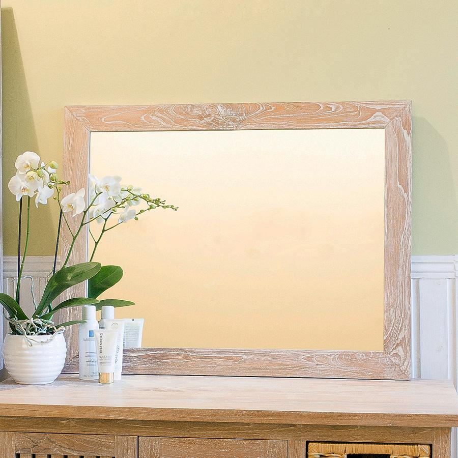 Купить Настенное зеркало Teak&Amp;Water прямоугольное, inmyroom, Индонезия
