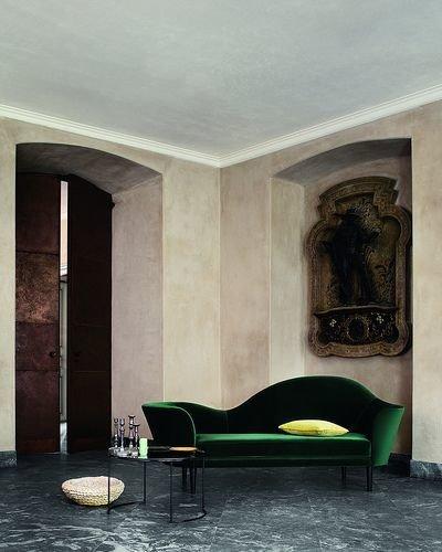 Фотография: Гостиная в стиле Эклектика, Декор интерьера, Дизайн интерьера, Цвет в интерьере – фото на InMyRoom.ru