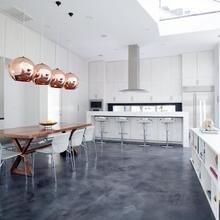 Фотография: Кухня и столовая в стиле Современный, Хай-тек, Прочее, Советы, ламинат, хранение – фото на InMyRoom.ru