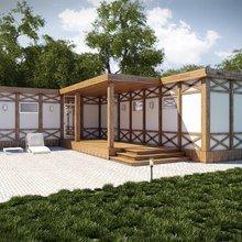 Фото из портфолио Rubus Home - варианты фасада – фотографии дизайна интерьеров на INMYROOM