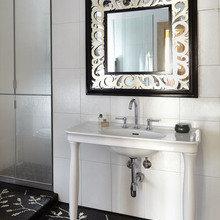 Фотография: Ванная в стиле Кантри, Эклектика, Классический, Современный, Квартира, Проект недели – фото на InMyRoom.ru