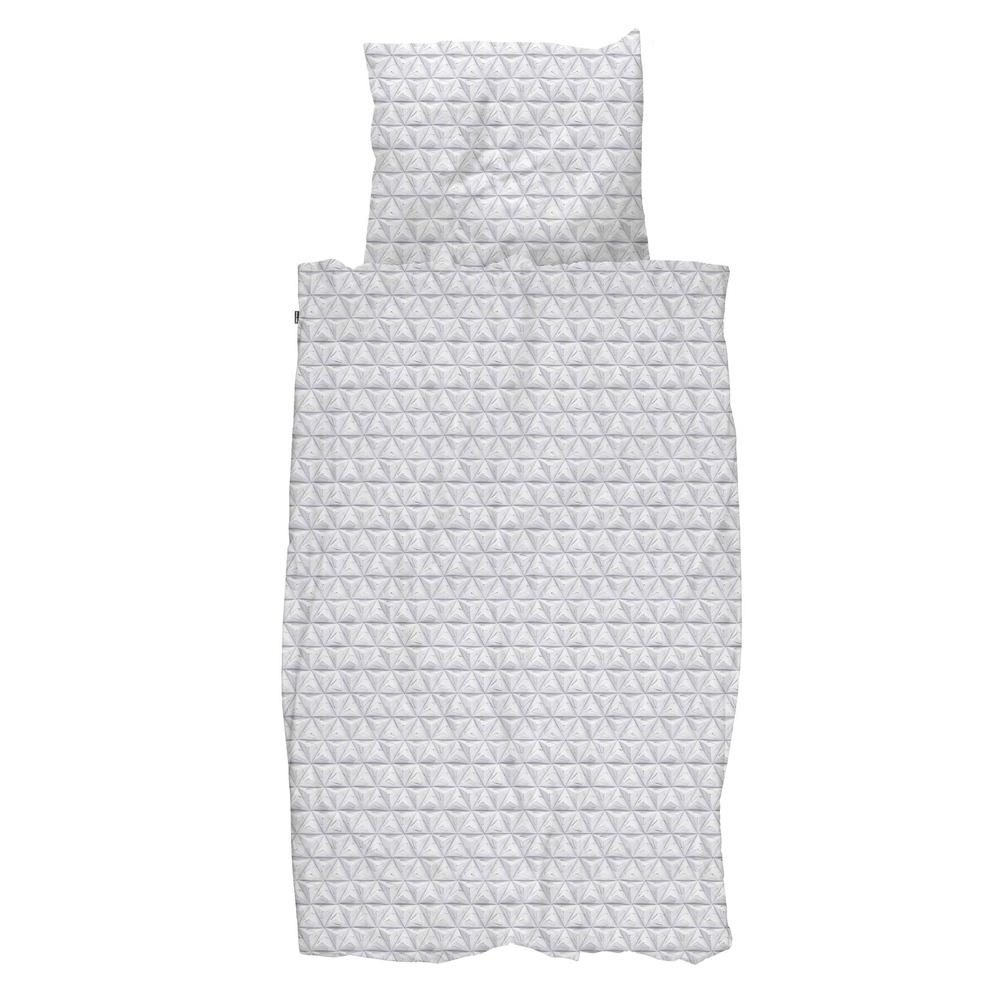 Комплект постельного белья оригами серый 150х200