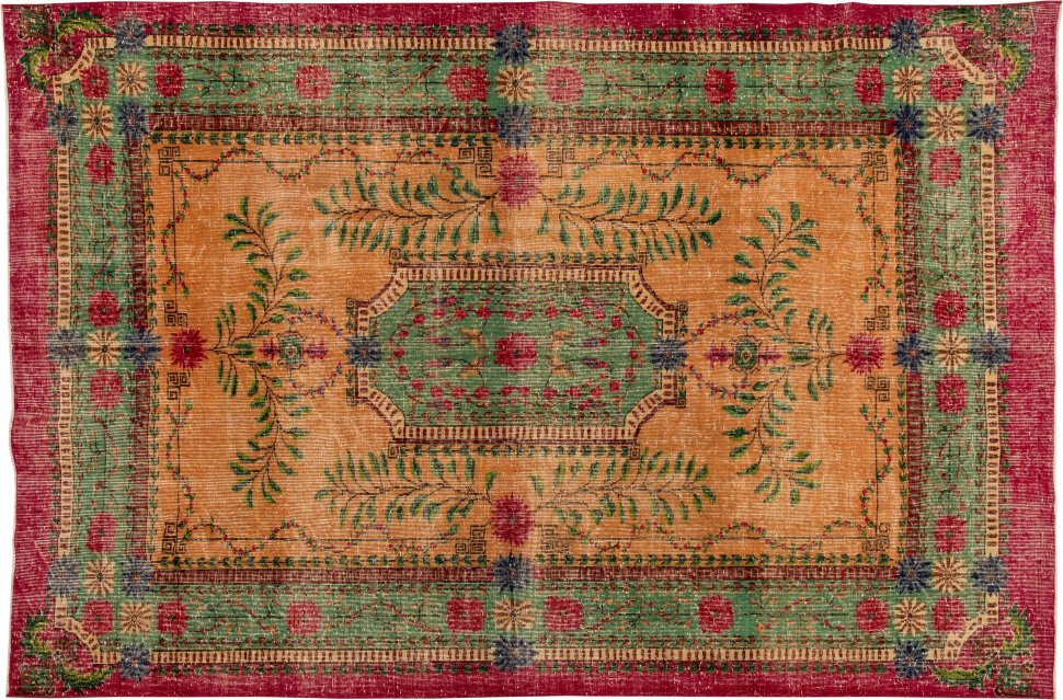 Купить Винтажный ковер Art Deco 312х215, inmyroom, Иран