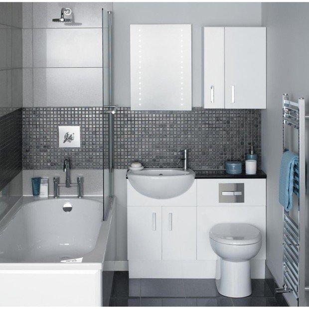 Фотография: Ванная в стиле Современный, Хай-тек, Интерьер комнат – фото на InMyRoom.ru