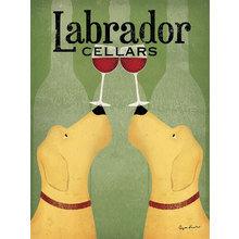 Картина (репродукция, постер): Labrador Cellars
