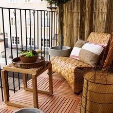 Фотография: Балкон в стиле Эко, Квартира, Декор, Советы, как обустроить маленький балкон, идеи для маленького балкона, декор балкона – фото на InMyRoom.ru
