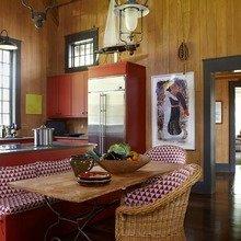 Фотография: Кухня и столовая в стиле Кантри, Декор интерьера, Стиль жизни, Советы, Обеденная зона – фото на InMyRoom.ru