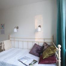 Фотография: Спальня в стиле Минимализм, Декор интерьера, Малогабаритная квартира, Советы, ИКЕА, Мария Жучкова – фото на InMyRoom.ru