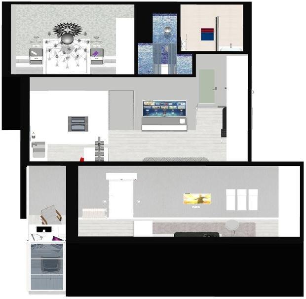 Уважаемые ВСЕ =) оцените планировку квартиры