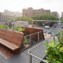Фотография: Терраса в стиле Современный, Эко, Дома и квартиры, Городские места, Нью-Йорк – фото на InMyRoom.ru