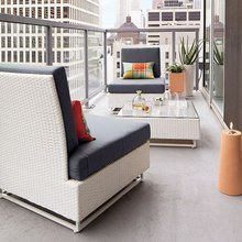 Фото из портфолио Идеи для балкона – фотографии дизайна интерьеров на InMyRoom.ru