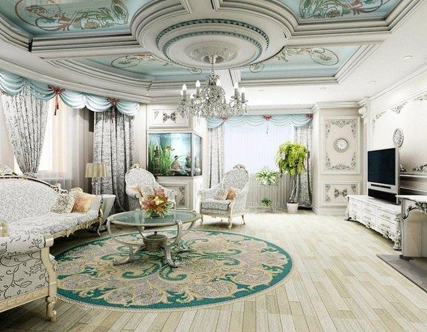 Фотография: Гостиная в стиле , Декор интерьера, Comptoir de Famille, Country Corner, Мебель и свет, Стол, Интерьерная Лавка, Журнальный столик – фото на InMyRoom.ru