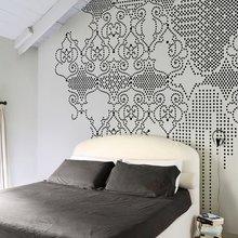 Фотография: Спальня в стиле Кантри, Декор интерьера, Декор дома, Обои, Стены – фото на InMyRoom.ru