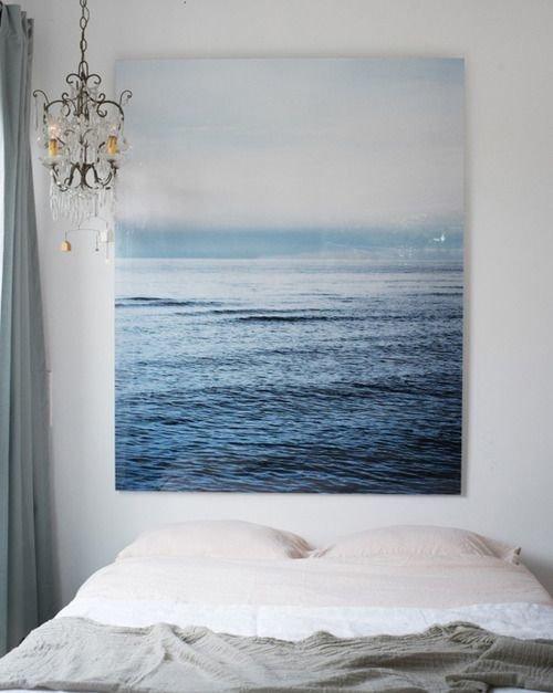Фотография: Спальня в стиле Прованс и Кантри, Декор интерьера, Дизайн интерьера, Декор, Цвет в интерьере, Морской – фото на InMyRoom.ru