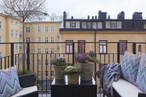 Фотография: Балкон в стиле Современный, Классический, Декор интерьера, Квартира, 4 и больше, Более 90 метров – фото на InMyRoom.ru