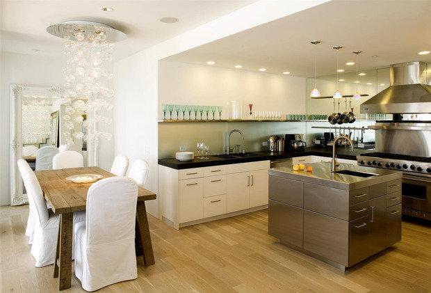 Фотография: Кухня и столовая в стиле Эклектика, Интерьер комнат, Советы – фото на InMyRoom.ru