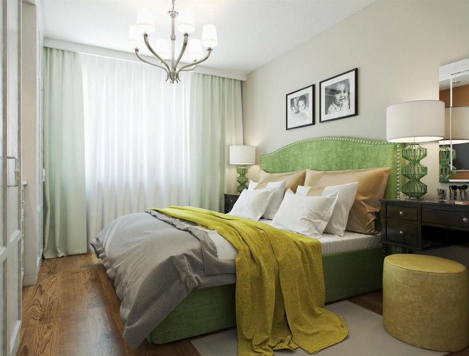 Фотография: Спальня в стиле Классический, Квартира, Проект недели, Москва, КОПЭ, Светлана Старцева – фото на InMyRoom.ru