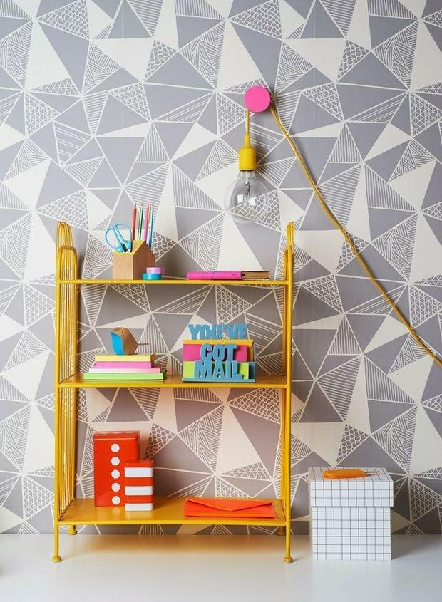 Фотография: Мебель и свет в стиле , Детская, Декор интерьера, Интерьер комнат, Обои – фото на InMyRoom.ru