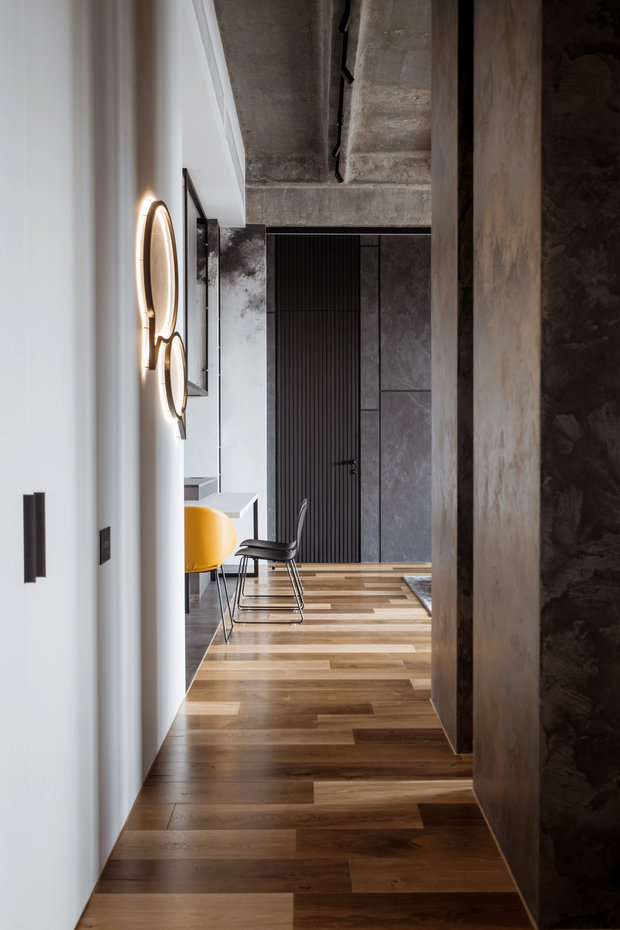 Фотография: Прихожая в стиле Лофт, Квартира, Проект недели, Москва, 3 комнаты, Более 90 метров – фото на INMYROOM