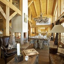 Фотография: Кухня и столовая в стиле , Дом, Дома и квартиры, Дом на природе – фото на InMyRoom.ru