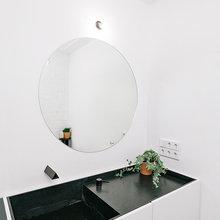 Фото из портфолио  Минималистичная и уютная квартира в черно-белом исполнении – фотографии дизайна интерьеров на INMYROOM