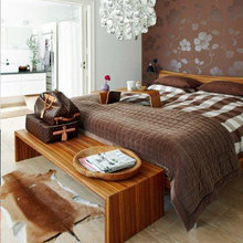 Фотография: Спальня в стиле Современный, Дом, Bloomingville, Дома и квартиры – фото на InMyRoom.ru