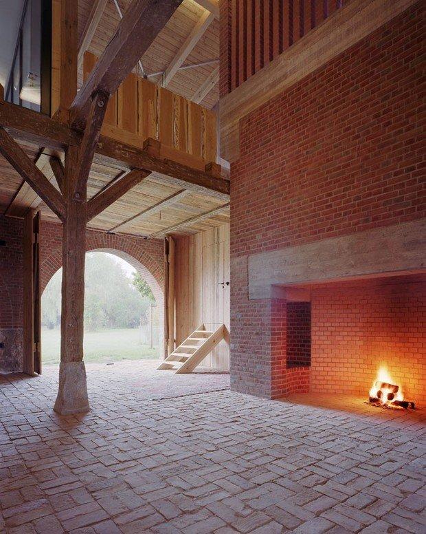Фото из портфолио Отреставрированный сарай в Берлине – фотографии дизайна интерьеров на INMYROOM