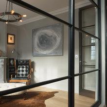 Фото из портфолио Фулхэм, Лондон - весьма оригинальные  комбинации роскоши и скромности – фотографии дизайна интерьеров на INMYROOM