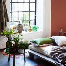 Фотография: Спальня в стиле Восточный, Флористика, Стиль жизни, Советы, Цветы – фото на InMyRoom.ru