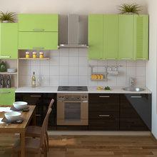 Фотография: Кухня и столовая в стиле Современный, Хай-тек,  – фото на InMyRoom.ru