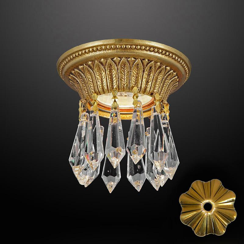 Встраиваемый светильник Martinez y Orts з прозрачного хрусталя с кристаллами Swarovski