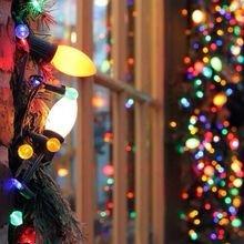 Фотография: Декор в стиле Современный, Декор интерьера, Декор дома, Праздник, Новый Год, Гирлянда – фото на InMyRoom.ru