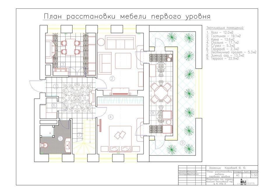 Фотография:  в стиле , Классический, Квартира, Проект недели, Москва, Наталия Куретнева, Юлия Корнилова, DOMINANTA interior design & decoration, новостройка, Кирпичный дом, 4 и больше, Более 90 метров – фото на InMyRoom.ru