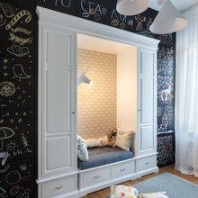 Фотография: Детская в стиле Скандинавский, Квартира, Проект недели – фото на InMyRoom.ru