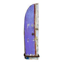 Винный шкаф Папай из старой рыбацкой лодки