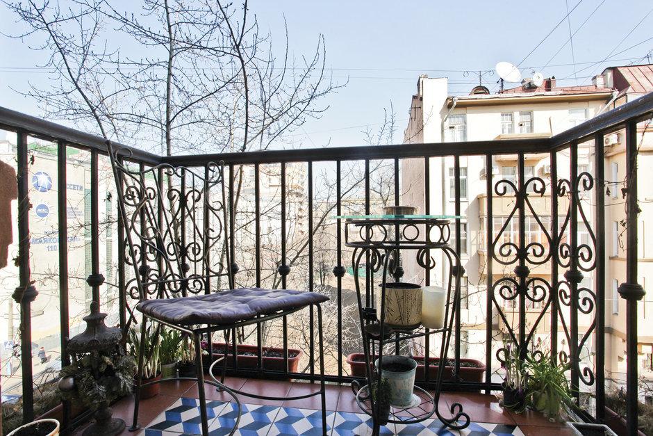 Фотография: Балкон, Терраса в стиле , Классический, Квартира, Дома и квартиры, Проект недели – фото на InMyRoom.ru