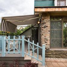 Фотография: Балкон, Терраса в стиле Кантри, Современный, Декор интерьера, Дачный ответ, Веранда – фото на InMyRoom.ru