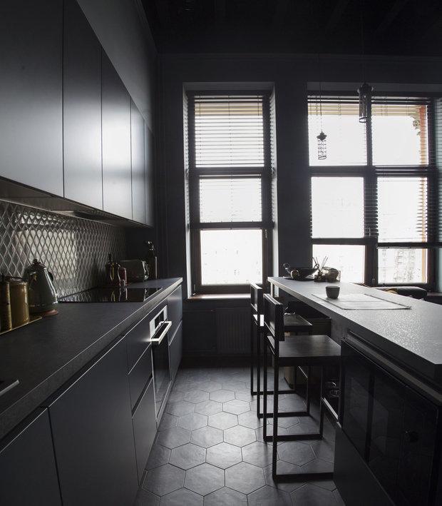 Фото из портфолио Проект апартаментов на Проспекте Мира – фотографии дизайна интерьеров на INMYROOM