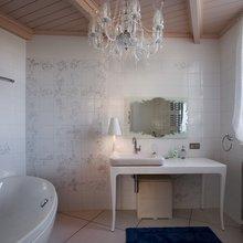 Фотография: Ванная в стиле Классический, Современный, Дом, Дома и квартиры, Ар-деко – фото на InMyRoom.ru