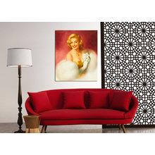 Декоративная картина на холсте: Улыбка Монро