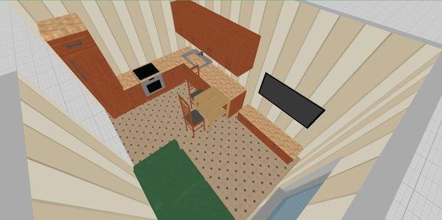 Кухня 12.5 кв.м.