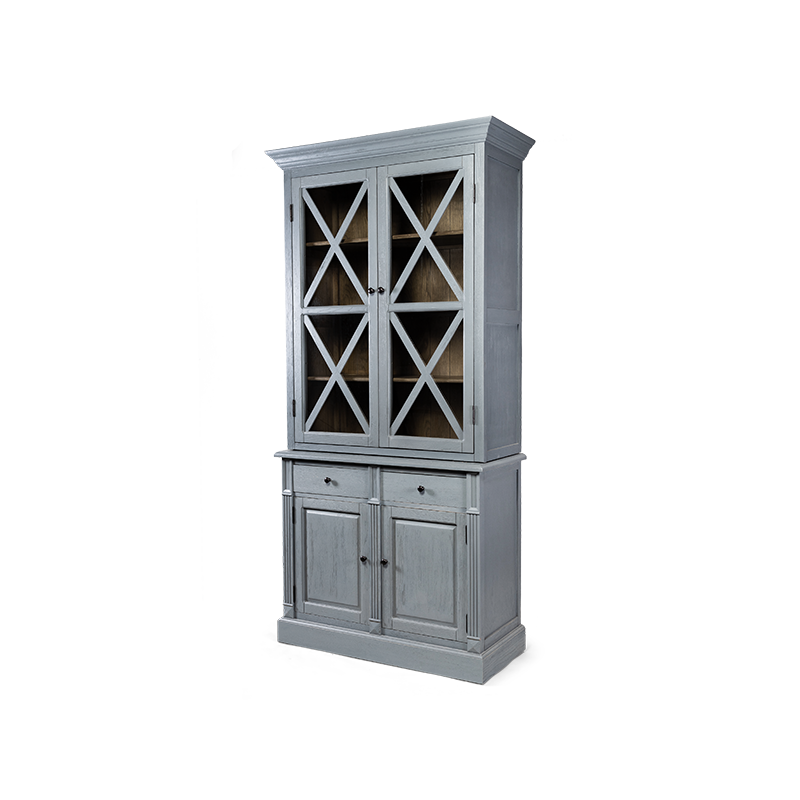 Шкаф Avelina двухдверный со стеклом